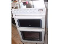 6 MONTHS WARRANTY 55cm wide Hotpoint Creda double ovne electric cooker FREE DELIVERY