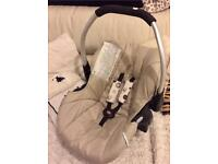 Ladybird baby car seat by Hauck