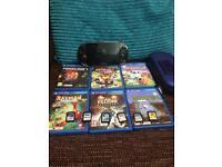 PlayStation vita and many games