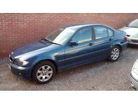 BMW 318i SE SALOON 2002 ALLOY WHEELS 12 MONTHS MOT