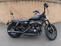 Harley Davidson Sportster 883 Iron with lots of upgrades. Mint condition