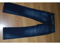 Woman jeans Fat face size 10-12 brand new