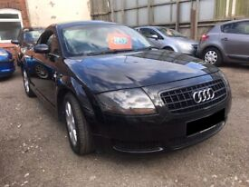 Audi TT 1.8 T 3dr - 2004, 3 owners, Leather Trim, New Brakes, Just Serviced, PRICED TO CLEAR £1695