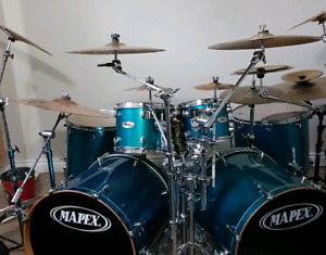 7 piece mapex pro maple shell pack forsale