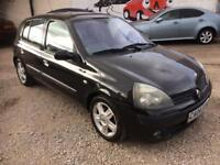RENAULT CLIO 1.5 DCI DIESEL MOT £20 A YEAR ROAD TAX, £850