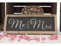Mr & Mrs Blackboard