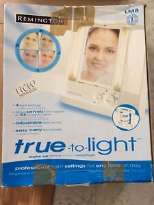 Remington LM8 true-to-light Make-Up Mirror New