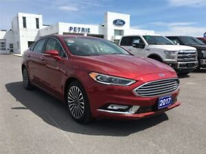 2017 Ford Fusion Titanium - HEAT/COOL LEATHER, NAV, MOONROOF