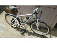 Electric bike with keys and charger