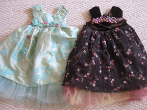 Two Zulily Fancy Dresses, Size 12 Months