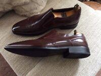 JOHN WHITE (NORTHAMPTON) Size UK 11, Wingtip Brogue loafers.