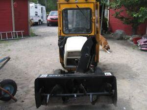 tracteur a pelouse
