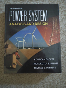 Mint condition 5th Power System Analysis and Design (Glover)