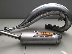 FMF Pipe and Silencer RM125