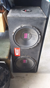 Pioneer amp w/ subs