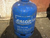 15KG CALOR gas bottle, full - dealer price £81!!