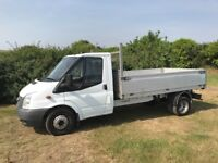 *ONLY 58,000 MILES* FORD TRANSIT t350 2.4 DIESEL TRUCK 2007 07-REG SERVICE HISTORY DRIVES LIKE NEW
