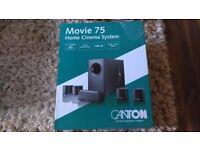 Canton Movie 75 Black 5.1 Speaker Package Surround Sound Home Cinema