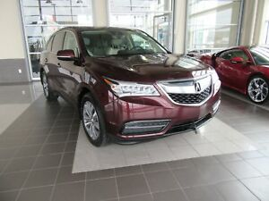 2016 Acura MDX Technology Package NAVIGATION, DVD PLAYER, LEA...