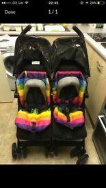 Double maclaren stroller