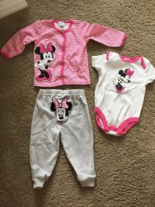 Minnie Mouse 12mos outfits