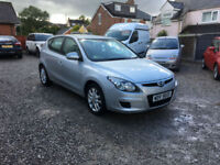2010 59 HYUNDIA i30 1.4 COMFORT 5DR ONLY 53000 MILES WITH FULL SERVICE HISTORY,