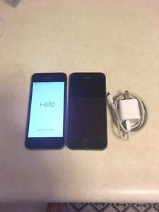 *Price Reduced* 2 IPhones, 5s, 16gb, no cracks, restored