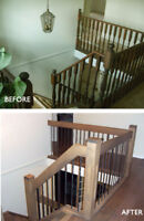 BEFORE Flooring, Upgrade Your Railing or Stair, ask us why!