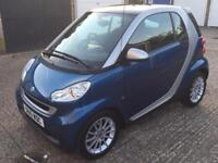 2010 (10) SMART FORTWO 1.0 PASSION MHD AUTO / EXCELLENT CONDITION