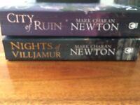 Mark Charan Newton Books