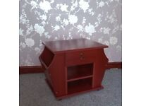 Occasional/Side Table with Magazine Rack