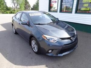 2014 Toyota Corolla LE LOADED for only $141 bi-weekly all in!
