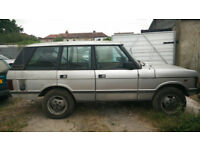 RANGE ROVER VOGUE 1985 FOR SPARES OR RESTORATION PROJECT