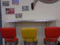 Bel-Air Retro American 50s Diner Furniture job lot