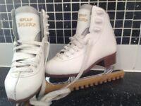 Graf Bolero child's ice skates size 1.5