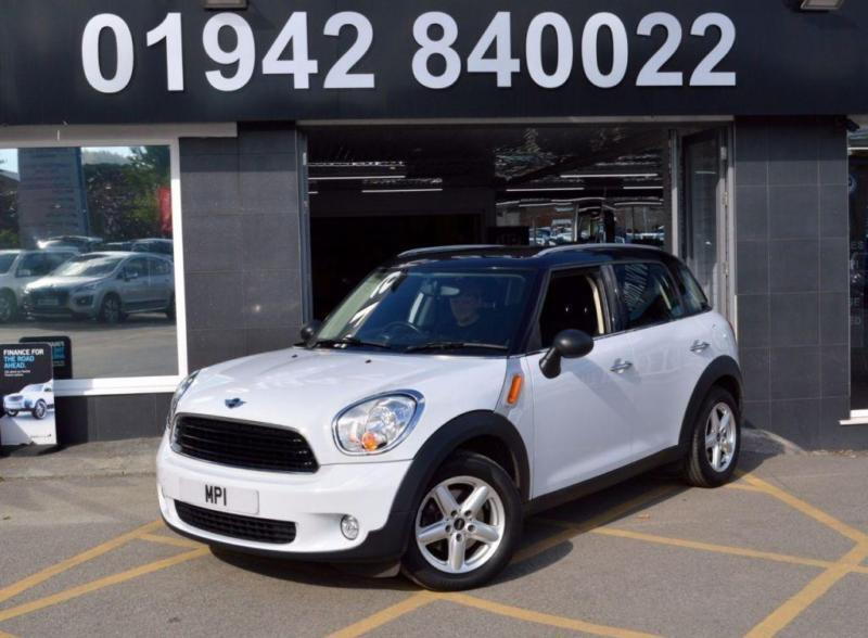 2011 61 MINI COUNTRYMAN 1.6 ONE 5D 98 BHP (PEPPER PACK ) 3DR SPORTY HATCH. WHITE