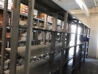 13 BAYS METAL DOUBLE SIDED WAREHOUSE INDUSTRIAL SHELVING - OFFICE COMMERCIAL