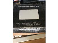 Veneer white wall tile
