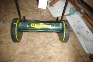 Yard-Works Reel Style Push Mower