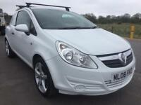 SALE! NO VAT! Bargain Vauxhall corsa van, full years MOT ready for work