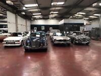 SECURE INDOOR HEATED CAR STORAGE CLASSIC VINTAGE PRESTIGE MODERN AND BIKES