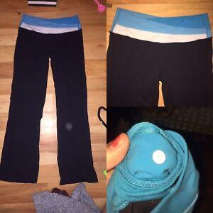 Blue Band Yoga Pants