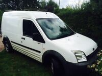 Ford Transit connect Bi-fuel, sold as seen damaged gear box open to offers