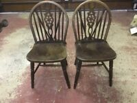 4 Chairs, 2 Ercol, 2 Pine