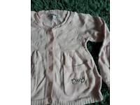 DKNY baby pink cardigan age 2