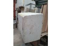 Polystyrene foam blocks 620 x 920 x 1100mm - £20 * good for carving*