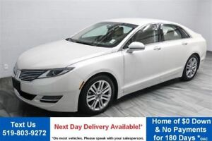 2013 Lincoln MKZ LEATHER! NAVIGATION! HEATED+COOLED SEATS! $82/W