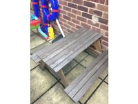 Ikea kids garden bench