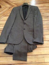 Small men's grey suit asos