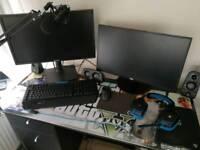 Streaming + Gaming PC. Biggest set